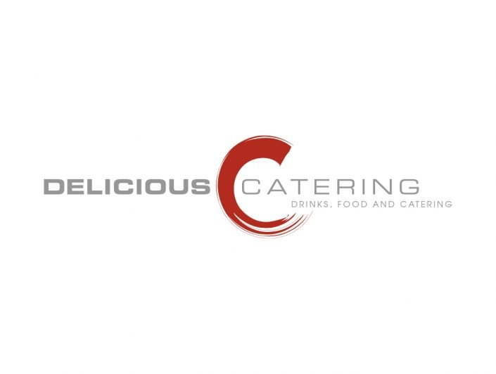 ontwerp logo delicious catering
