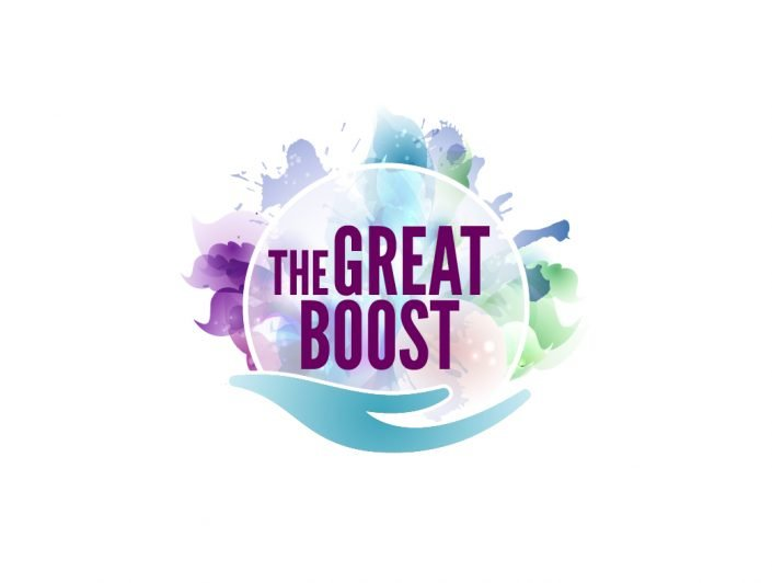 ontwerp logo The Great Boost